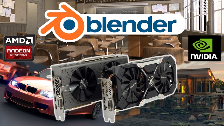 Latest Blender update boosts AMD dGPUs OpenCL performance in Cycles